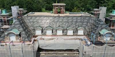 Preservation in Progress Tour: Westbury House Cornice & Roof Restoration