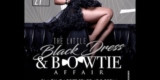 Little Black Dress and Bow Tie Affair