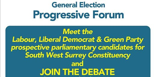 South West Surrey Compass General Election Progressive Forum