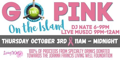 Go Pink on The Island  to benefit breast cancer