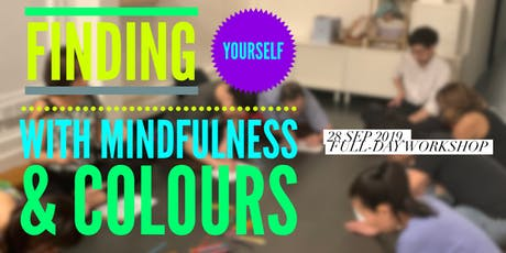 Finding Yourself with Mindfulness & Colours tickets