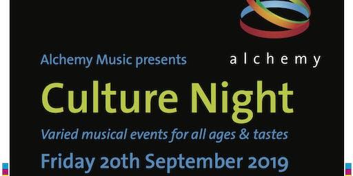 Alchemy Music: Culture Night 2019