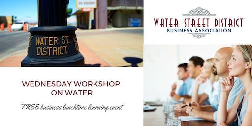 September WSDBA Workshop on Water