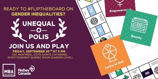 Unequalopolis: Networking over board game fun and gender inequality issues