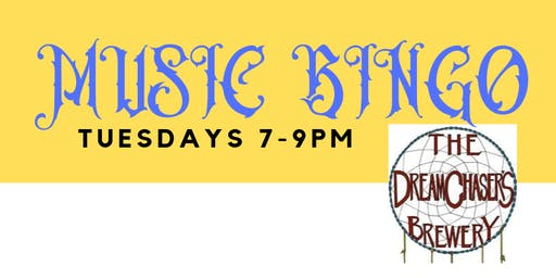 MUSIC BINGO at THE DREAMCHASER'S BREWERY - Waxhaw