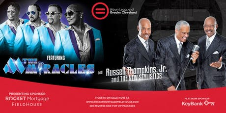 Urban League Benefit Concert featuring The Miracles and Russell Thompkins, Jr. and The New Stylistics tickets