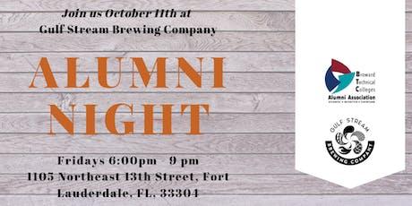 BTC Alumni Night  in October tickets