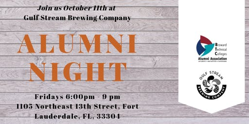 BTC Alumni Night  in October