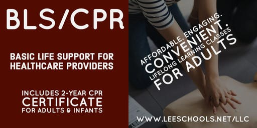 Basic Life Support/CPR Training @Lee County Public Education Center 11/19
