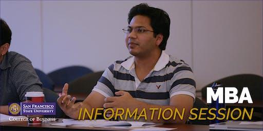 San Francisco State University - MBA Information Session