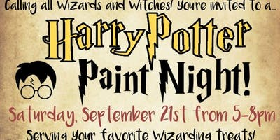 Harry Potter Paint Night (All ages)