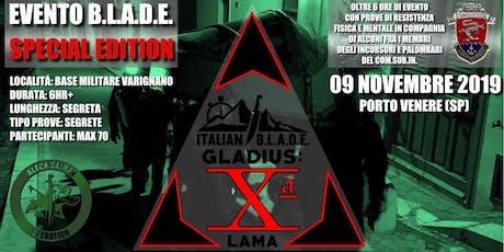 Italian BLADE Gladius: La Xª LAMA biglietti