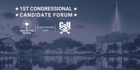 1st Congressional District Candidate Forum tickets