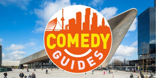 Rotterdam city walk with a Stand-up Comedian as a guide