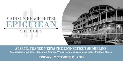 Madison Beach Hotel Epicurean Series   Alsatian Wine  Meets CT Shoreline