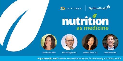 NUTRITION AS MEDICINE 2019: 1-Day Integrative Nutrition Conference