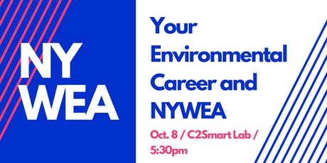 Your Environmental Career and NYWEA tickets