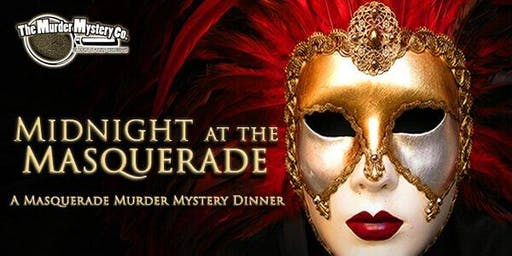 Murder Mystery Dinner - Midnight at the Masquerade - Seaside Oregon