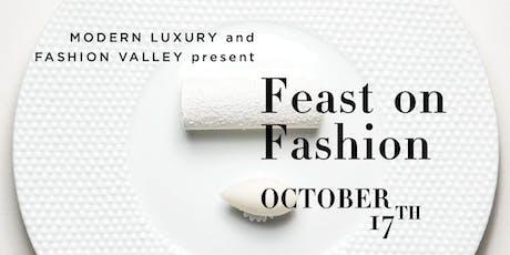 Feast on Fashion  tickets
