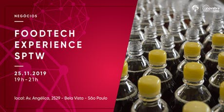 FOODTECH EXPERIENCE SPTW ingressos
