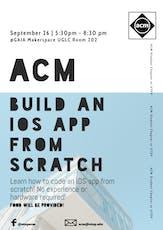 ACM Build an iOS App from Scratch Workshop entradas