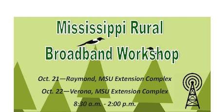 Mississippi Rural Broadband Workshop tickets