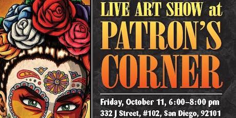 Nick Ivins: Live Art Show at Patron's Corner! tickets