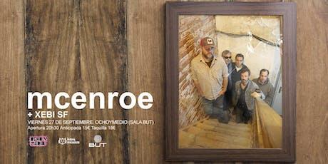 MCENROE en Madrid (Ochoymedio) entradas