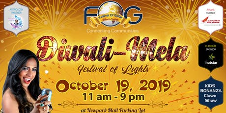 FOG Diwali - Festival of Lights tickets