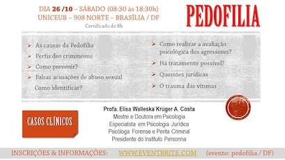 SEMINÁRIO SOBRE PEDOFILIA ingressos