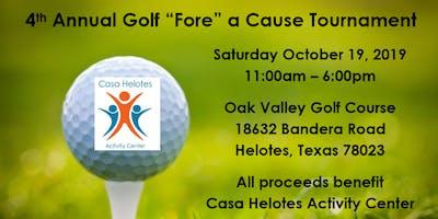 4th Annual Golf Fore a Cause Tournament