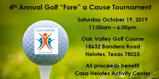 4th Annual Golf Fore a Cause Tournament