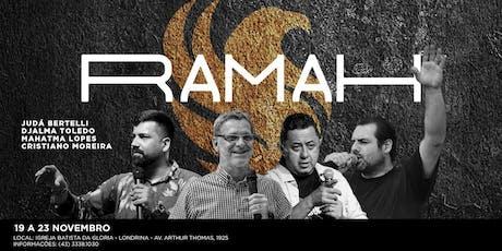 Escola de Profetas RAMAH ingressos