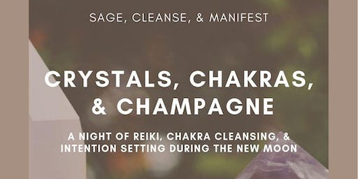 Champagne, Chakras & Crystals