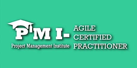 PMI-ACP (PMI Agile Certified Practitioner) Training  in San Francisco, CA  tickets