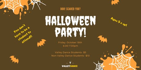 Halloween Party at Valley Dance tickets
