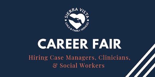 Sierra  Vista Case Manager, Clinician & Social Work Career Fair