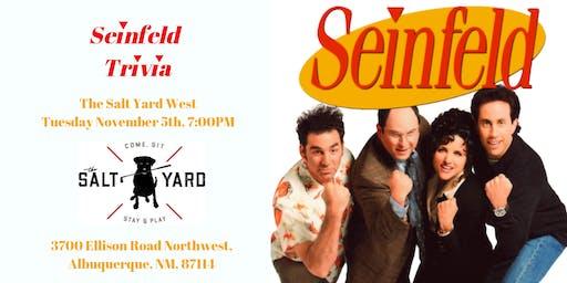 Seinfeld Trivia at The Salt Yard West