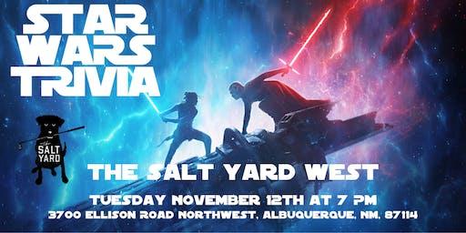 Star Wars Trivia at The Salt Yard West
