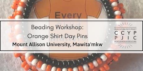 Beading Workshop: Orange Shirt Day Pins tickets