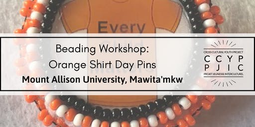 Beading Workshop: Orange Shirt Day Pins