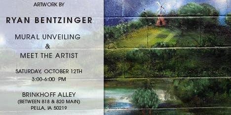 Mural Opening Reception & Meet the Artist