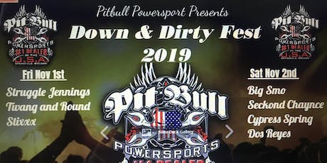 Down and Dirty festival tickets