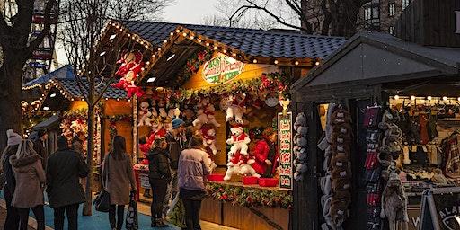 Single-Wanderung Schloß Karlsruhe mit Weihnachtsmarkt (50+)