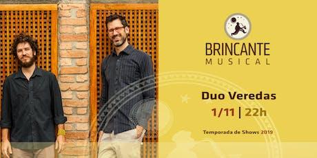 Brincante Musical | Duo Veredas ingressos