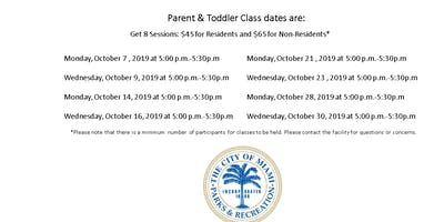 Grapeland Water Park Parent and Toddler Monday/Wednesday (5:00PM-5:30PM)