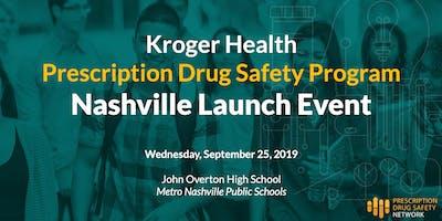 Prescription Drug Safety Program Nashville Launch Event