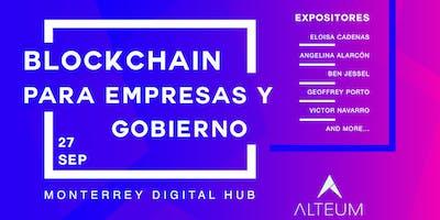 Blockchain para Empresas y Gobierno