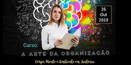 Curso: A arte da organizção ingressos