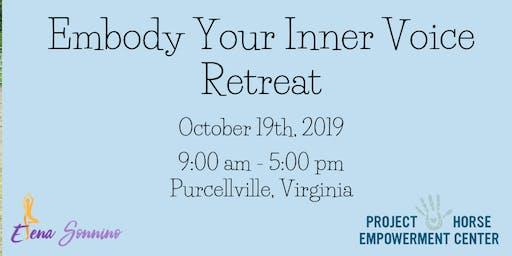 Embody Your Inner Voice Retreat